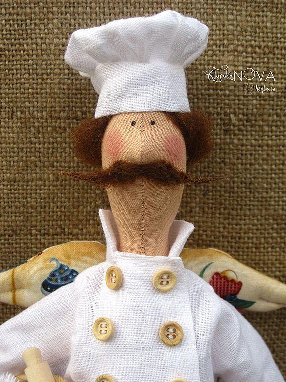 Купить Кукла-тильда Фей Домашней Выпечки - бежевый, кукла, кукла ручной работы