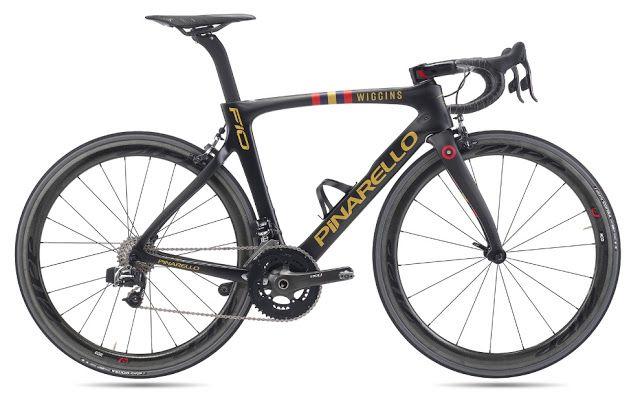 TOP 5 BICICLETAS DE CARRETERA: Pinarello F10 Team Wiggins, un lujo de bici