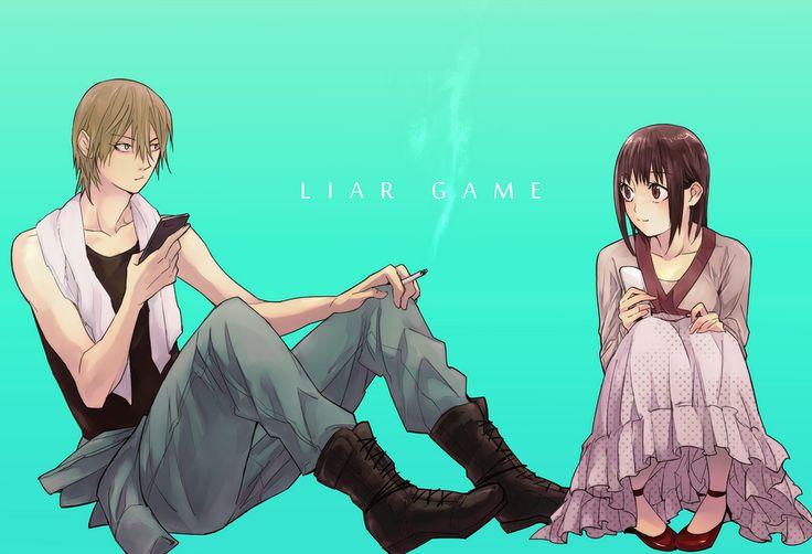 Liar Game - Akiyama Shinichi & Kanzaki Nao by gれl on pixiv