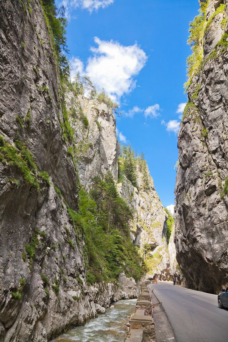 On this hot weather we retreat in Romania's beautiful mountains to relax. #bicaz #gorge #romania #mountain #carpathians #relax