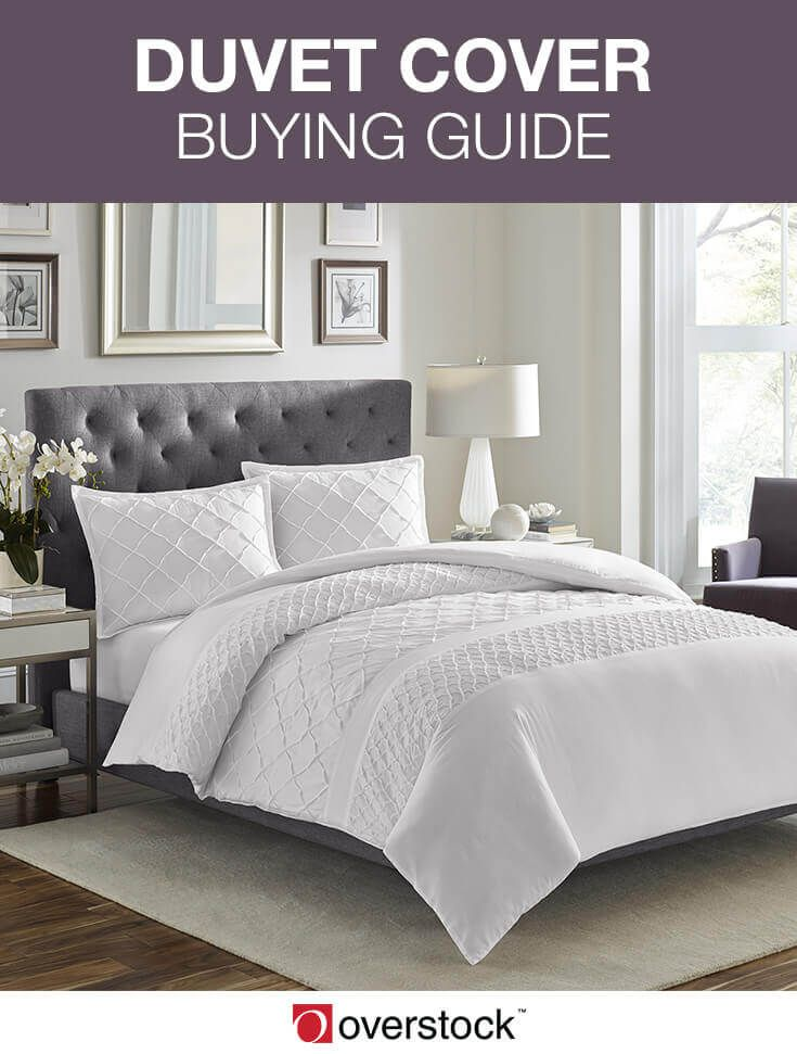 Duvet Cover Buying Guide. A duvet cover is a protective fabric cover that slips over your down comforter or duvet insert, just like how a pillowcase works with a pillow. If you have any kind of duvet insert or comforter, a duvet cover is a worthwhile investment for a number of reasons. Read on for helpful information about the benefits of having a duvet cover, including things to consider before buying one and how to use it best once you have it.