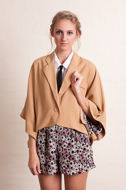 PinClove - floral lining cape