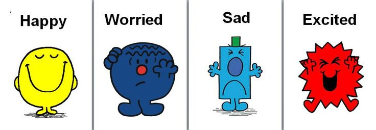 Use these Mr Men characters for a feelings display - children can attach a peg or their name to the one they identify with that day.