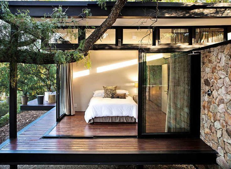 Impressionanti camere da letto vetrate