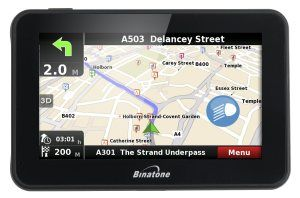 Review of the binatone sat nav range for the UK market. Could they be the right sat nav for you?