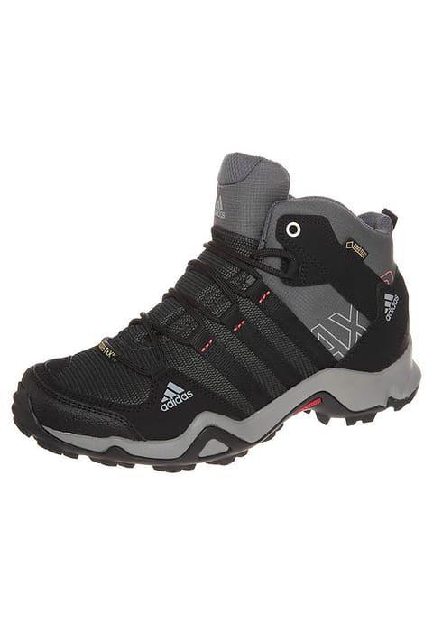 adidas Performance AX2 MID GTX - Stivali da trekking - carbon/black/sharp  grey