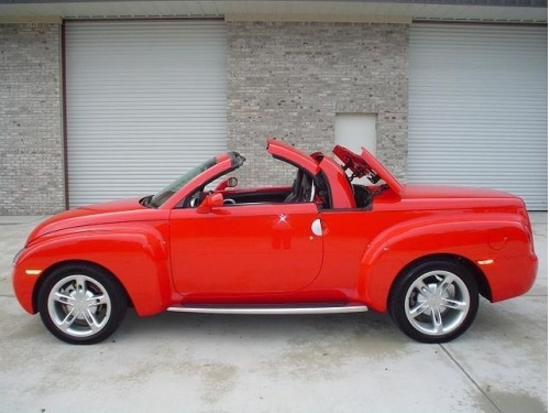 Chevrolet Ssr Pickup Convertible I Want This A Cruiser Autos Cute Transportation Pinterest Chevy And Cars