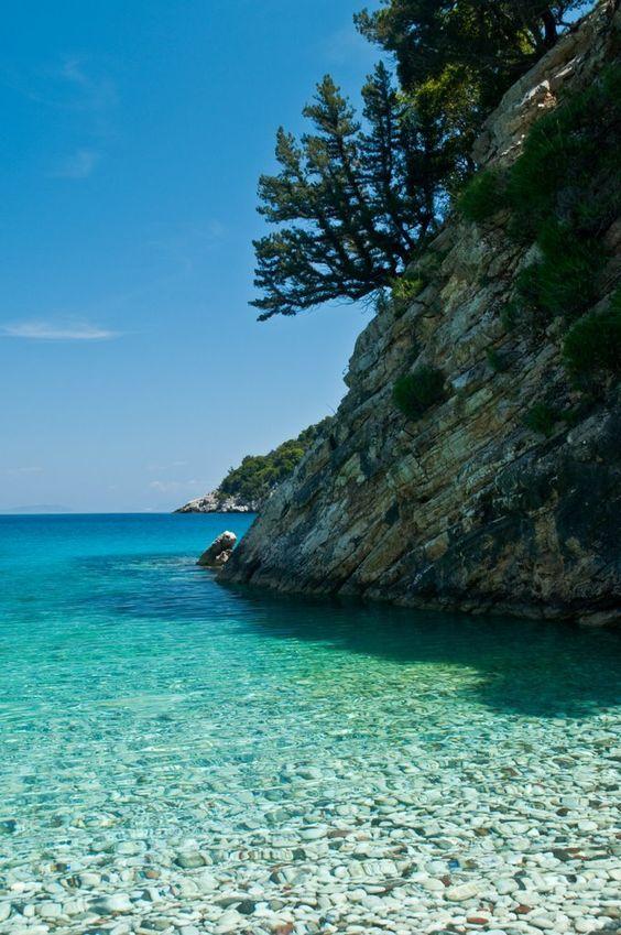 Filiatro Bay, Ithaki, Greece