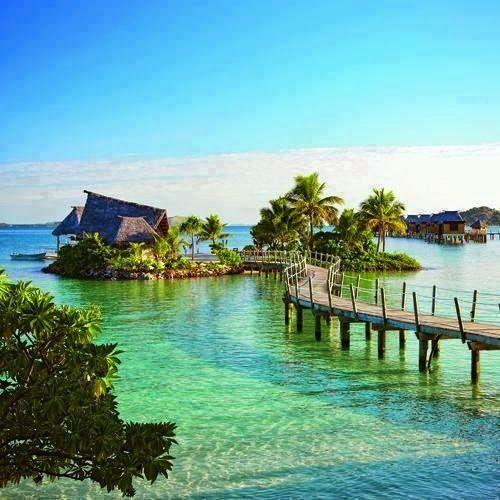 The Likuliku Lagoon Resort in Fiji