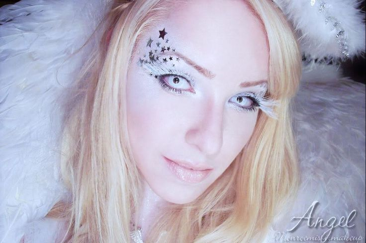 фото макияж blue angel