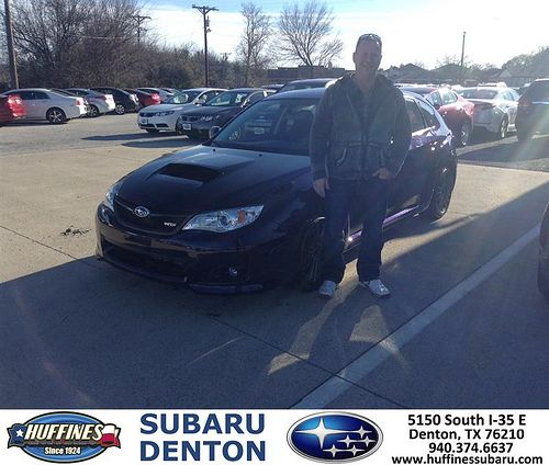 Thank you to Robert Hargenrater on your new 2014 #Subaru #Impreza Wagon WRX from Dale Rhoades and everyone at Huffines Subaru Denton! #NewCar