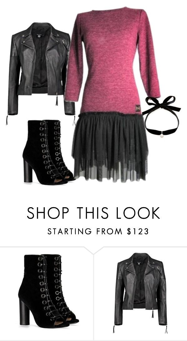 """pt12q"" by avenafashion on Polyvore featuring moda, Barbara Bui, Boohoo i Mateo"
