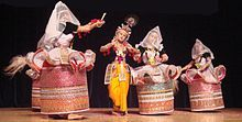 Manipuri dance with scenes from the life of Lord Krishna