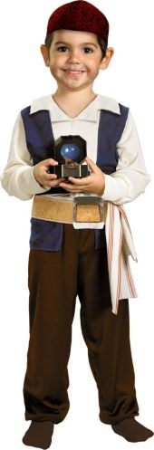 Toddler Boys Pirates of the Caribbean Captain Jack Sparrow Costume - Party City