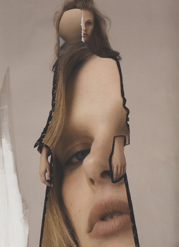 Fashion Mixed-Media Collages by Eugenia Alejos