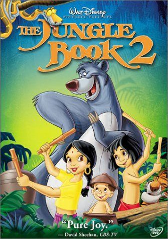 The Jungle Book 2! Love this adorable movie!