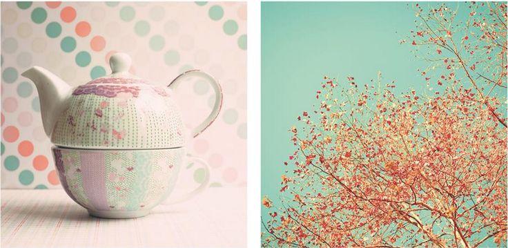 Tender Teal (mintgroen)Grote bureaus roepen deze kleur uit tot dé trendkleur van 2014. Heb je nog accessoires in de trendkleur van vorig jaar, smaragdgroen? Verhuis ze dan niet naar de zolder maar mix & match ze met nieuwe accesoires in de nieuwe trendkleur.  Ten slotte hebben we nog Coral Pink(zalmroze) Een kleur die we  zien terugkomen in de natuur: fruit, bloemen, koralen, … Koraal is trouwens al enkele jaren een trendkleur maar in 2014 zullen we volgens BOX3 frissere varianten zien.