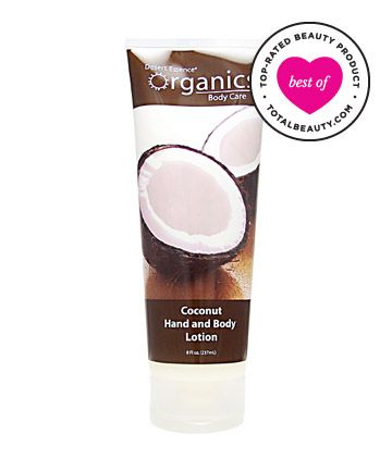Best Body Lotion No. 6: Desert Essence Organics Coconut Hand and Body Lotion, $8.99