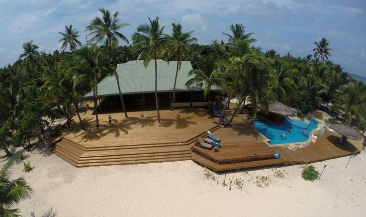 Elements Sand+ Decking on Tavarua Island, Fiji