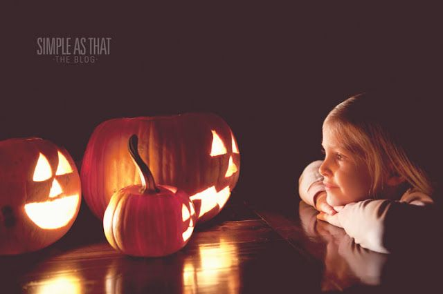 simple as that: How to Take Spooky Pumpkin Photos