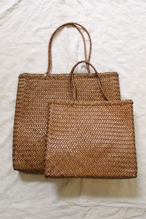 Hand Braided Leather Bag