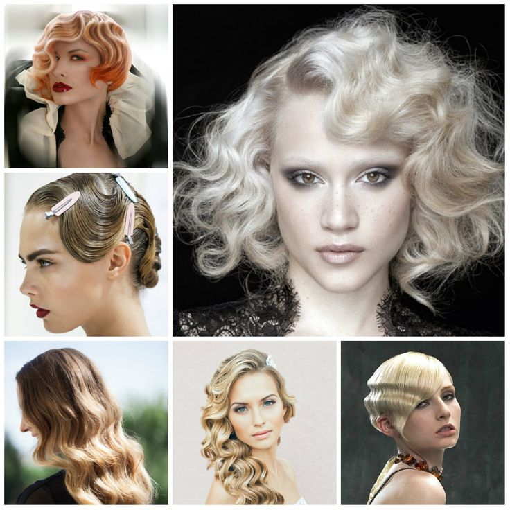 Retro Finger Wave Hairstyles New