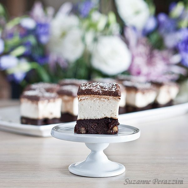 Chocolate marshmallow slice - grain, dairy and refined sugar-free. Recipe at www.strandsofmylife.com