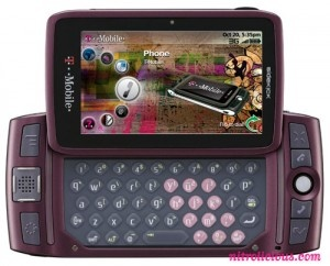 Tmobile Sidekick.  Had this phone temporarily while I ordered my dream phone from overseas