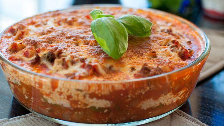 Glutenfri lasagne med squash à la Kvardagsmat.no