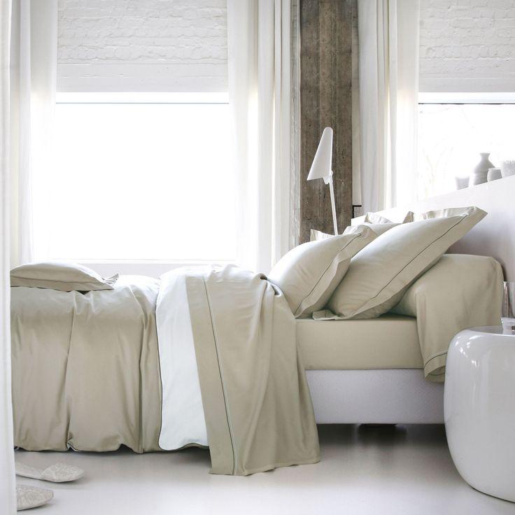 127 best images about beau linge on pinterest - Drap housse satin coton ...