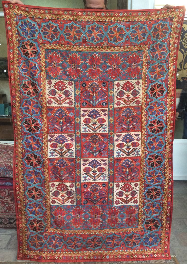 Pure silk embroidery on silk&cotton foundation,natural colors,totally hand made 175cmx125cm