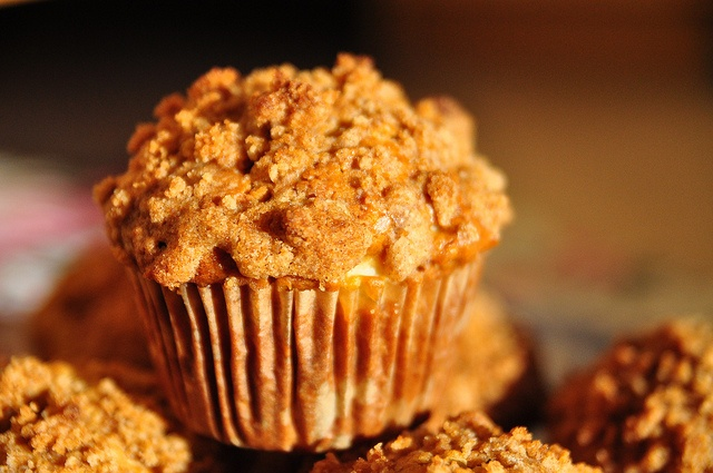 apple strudel muffins by ☼ Sasha ♥ , via Flickr