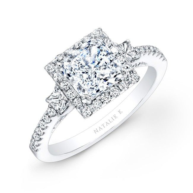17 Best ideas about Princess Cut Halo on Pinterest