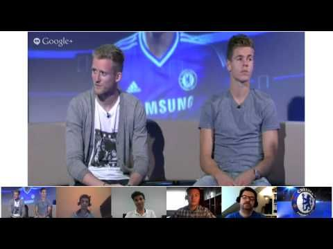 FOOTBALL -  Google+ Hangout with Andre Schurrle and Marco van Ginkel - http://lefootball.fr/google-hangout-with-andre-schurrle-and-marco-van-ginkel/