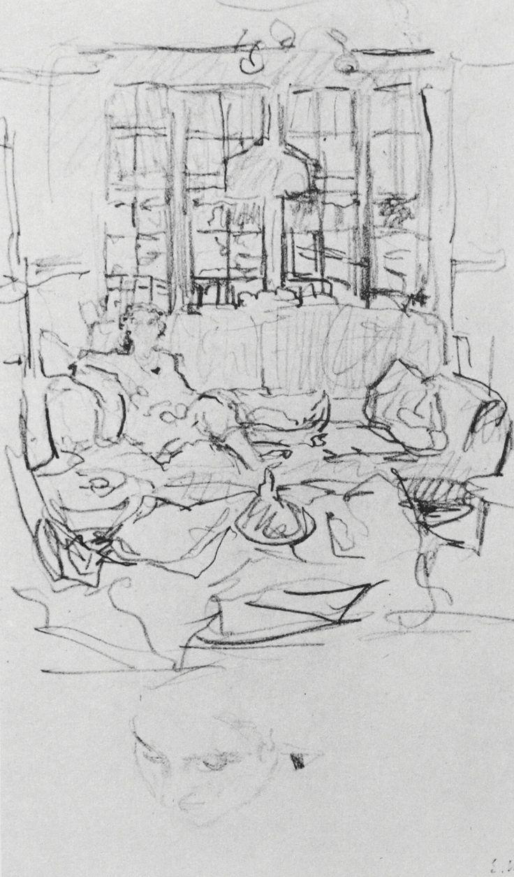 The Interiors of Edouard Vuillard   Drawing OWU