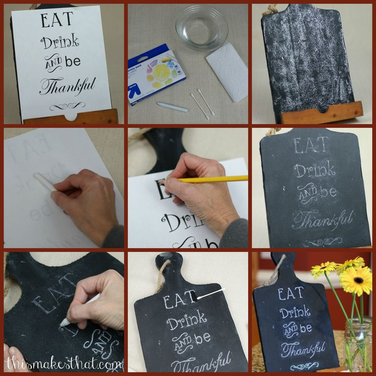 This Makes That: 10 Chalkboard Writing Tips and Tricks