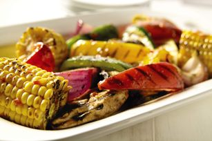 Mediterranean Grilled Vegetables recipe-definitely have to try this this weekend!