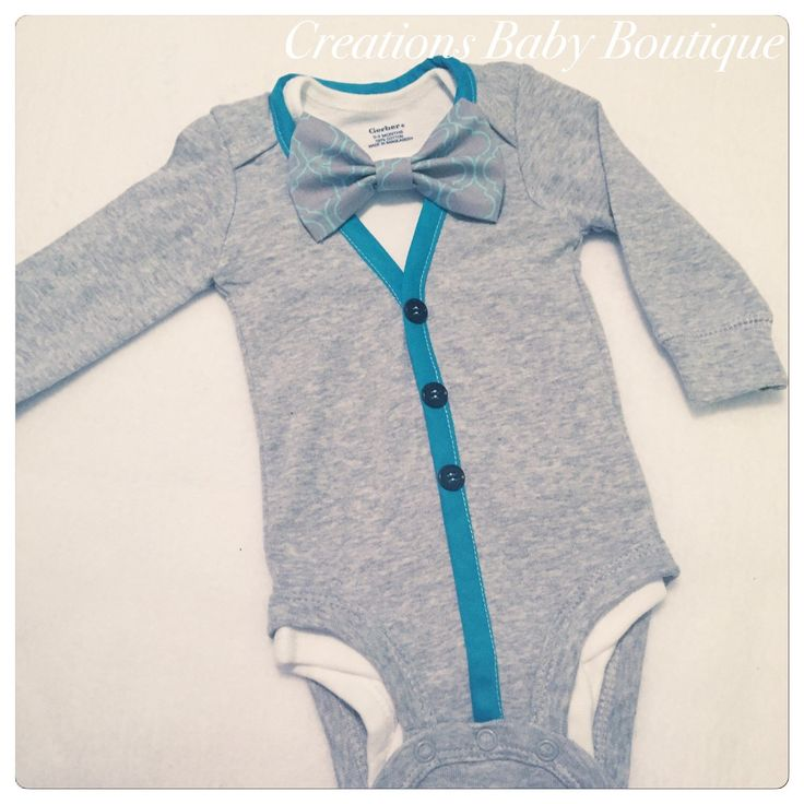Baby boy cardigan onesies , bow tie and shoes set , baby  outfit , baby boy outfit , baby boy clothes set by CreationsBabyB on Etsy https://www.etsy.com/listing/275051526/baby-boy-cardigan-onesies-bow-tie-and