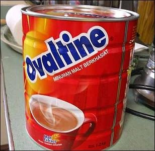 Ovaltine, truly a childhood memory that never leaves me...God Bless Mom, she'd get up at 2am when I couldn't sleep and heat the stove and make me a warm cup...thank you Mom! xo