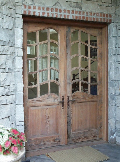 17 best images about french doors on pinterest double for Custom made wood doors