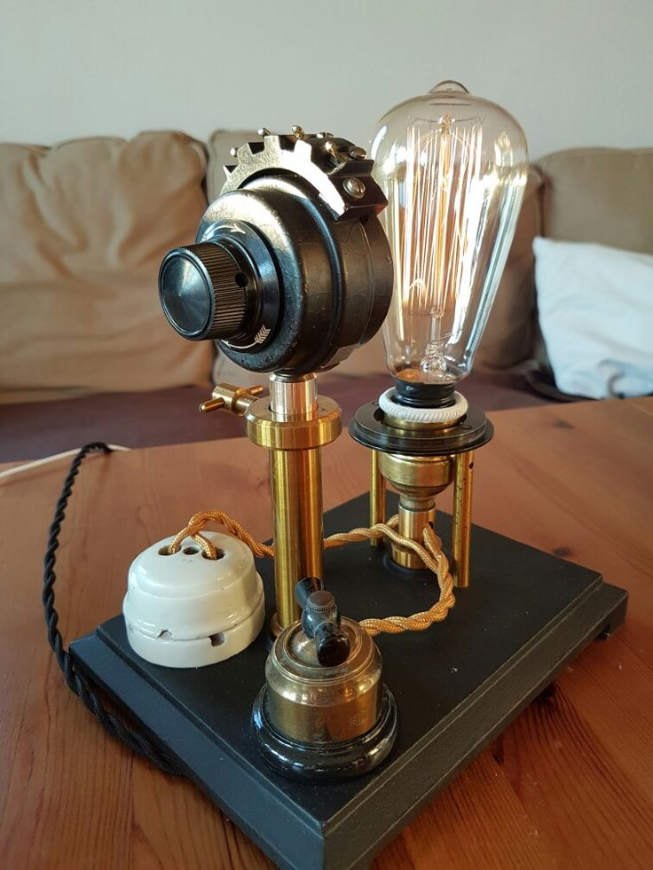 Edison-filament, dimmable desktop lamp, home design@made