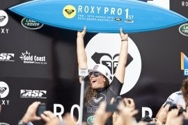 Tyler Wright wins 2013 Roxy Pro Gold Coast over Sally Fitzgibbons