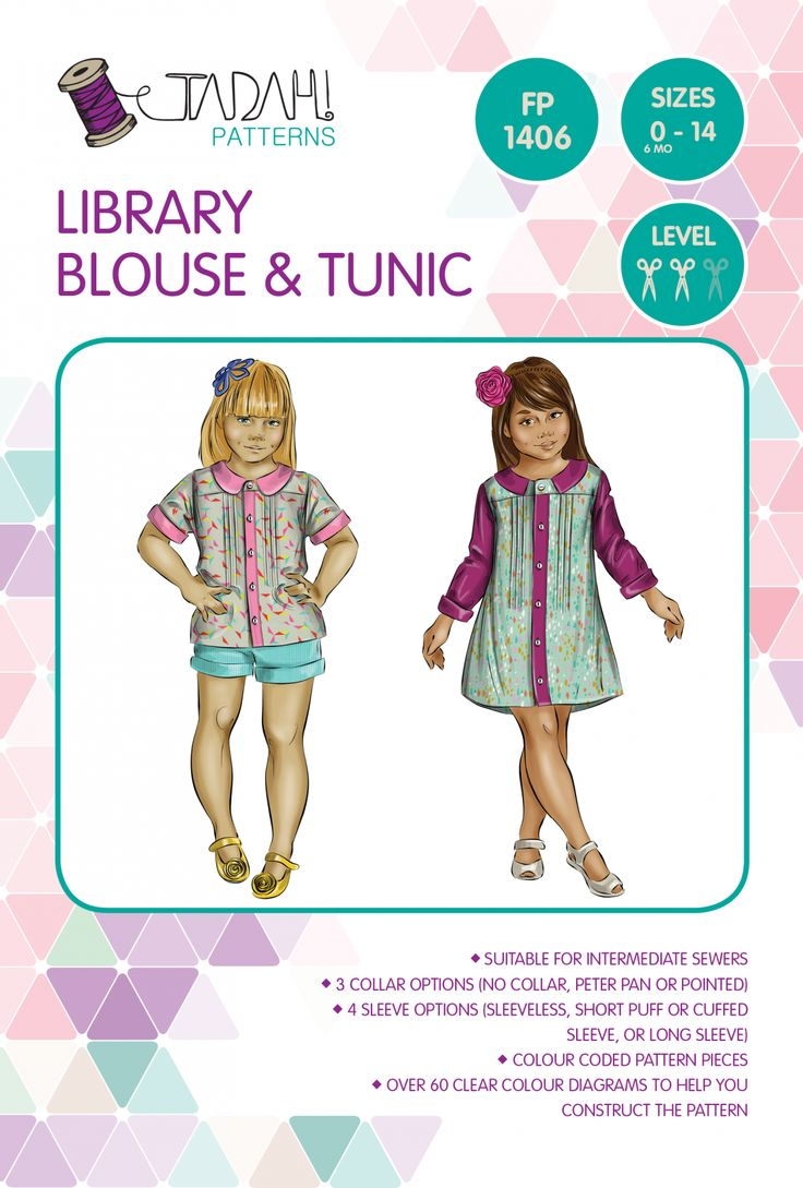 79 best Patterns I Own - Tops & Tunics images on Pinterest | Clothes ...