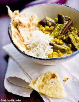 Baigan bharta (aubergines au curry) pour 4 personnes - Idem sans le yahourt
