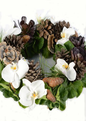 CHRISTMAS DOOR WREATH  WEDNESDAY THE 11TH OF DECEMBER 2013 11AM-2PM MUM AND BUBS CLASS