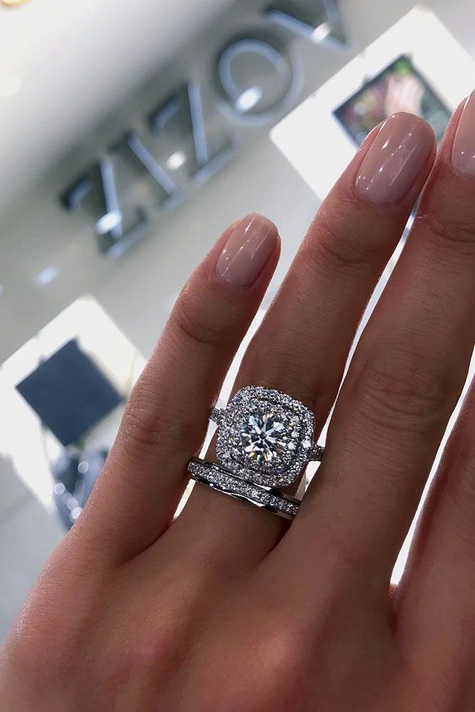Stunning Bridal Sets That Will Melt Her Heart Wedding Forward Wedding Rings Solitaire Dream Engagement Rings Beautiful Engagement Rings