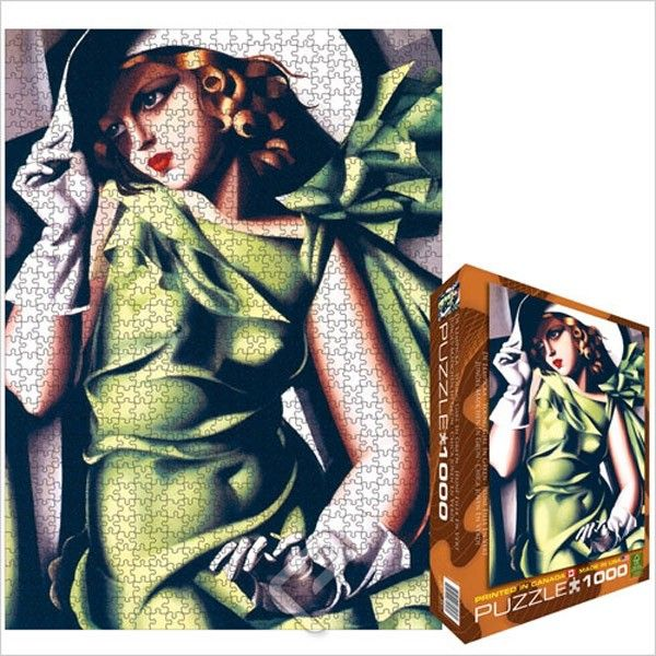 Eurographics 6000-1058 - de Lempicka: Young Girl - Jigsaw 1000 pieces Jigsaws Number of pieces 1.000 pieces