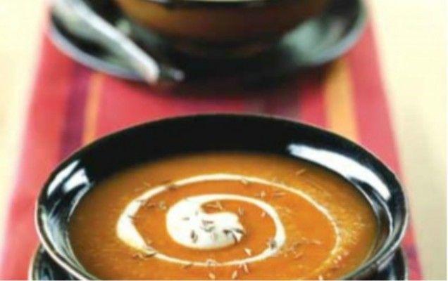 Καροτόσουπα βελουτέ - iCookGreek