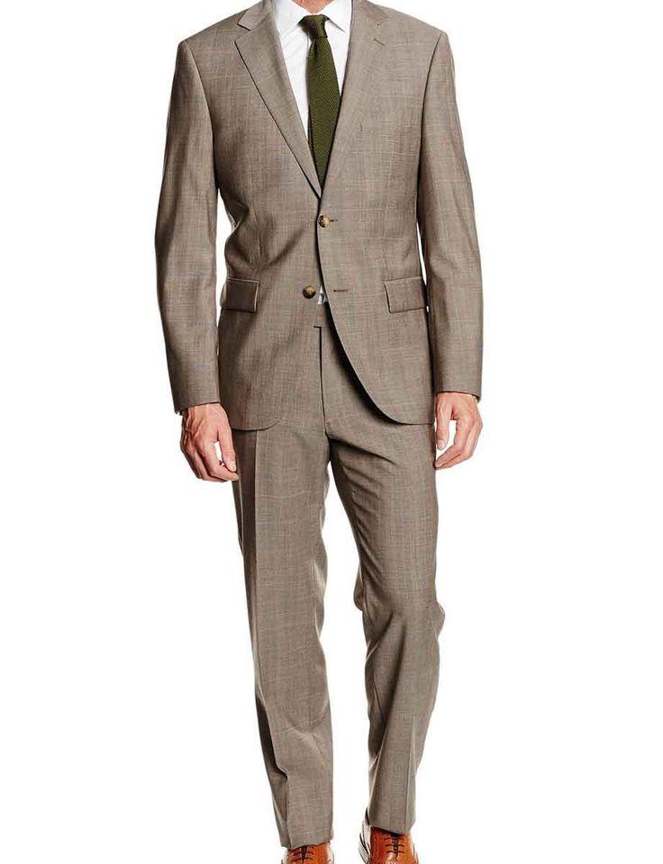 Mens-brown-Suit