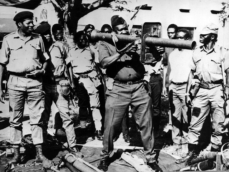 Idi Amin Dada the 'Butcher of Uganda' - 1976